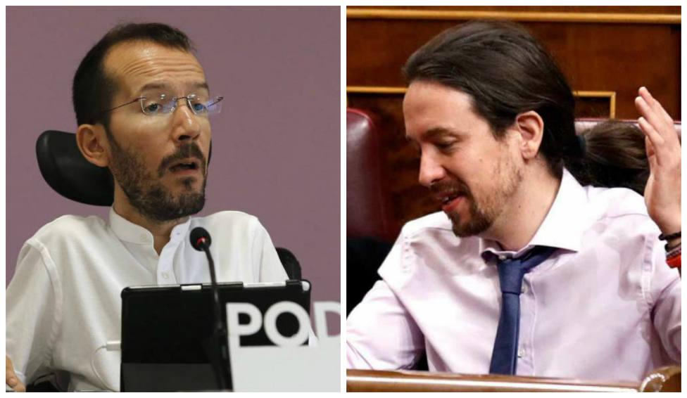 """El comentario de Echenique sobre Iglesias que anima las redes: """"Menos mal que se ha hecho un moño"""""""