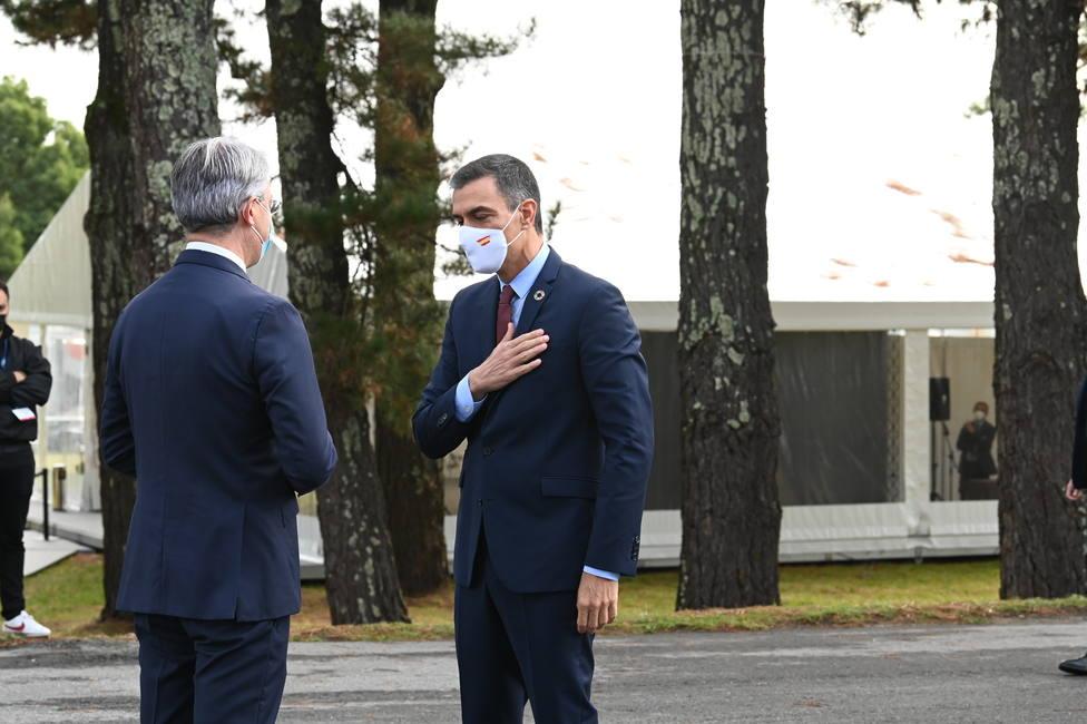Pedro Sánchez participa en la clausura del II Foro La Toja