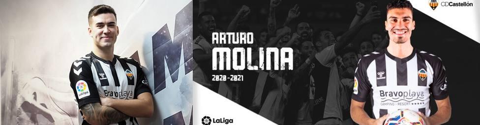 Marcos y Molina han sido los últimos movimientos en el mercado de fichajes por parte del CD Castellón