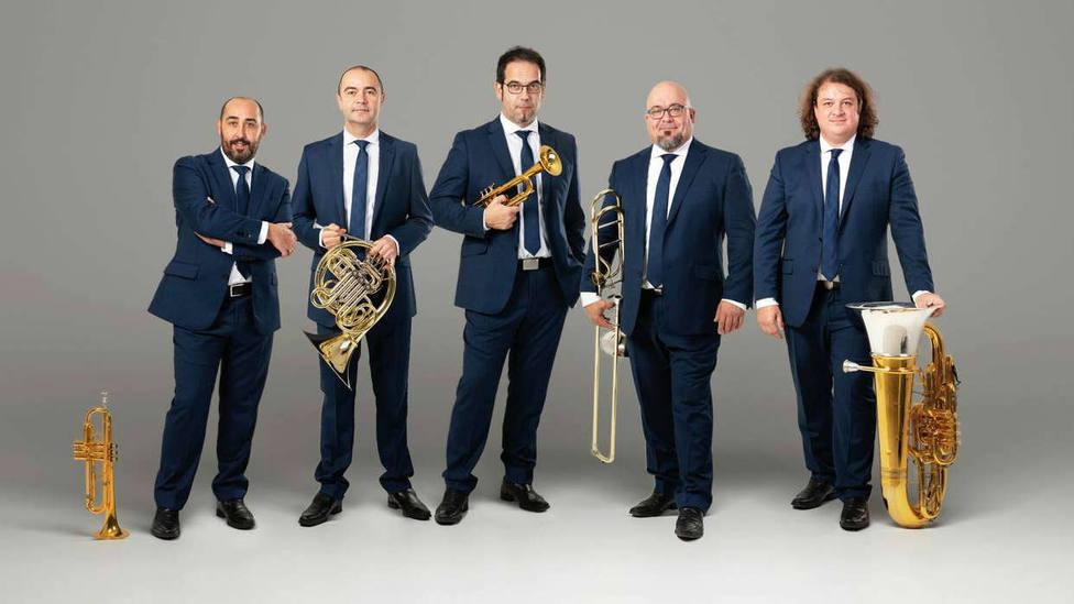 El quinteto de metal Spanish Brass, uno de los galardonados con los Premios Nacionales de Música 2020