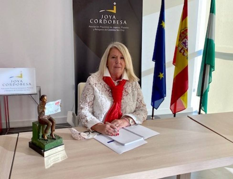 Milagrosa Gómez, reelegida presidenta de la Asociación provincial de Joyeros, Plateros y Relojeros San Eloy