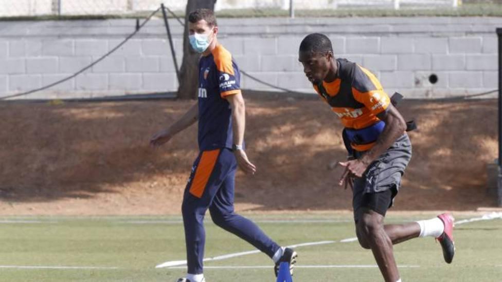Kondogbia ha vuelto a entrenar
