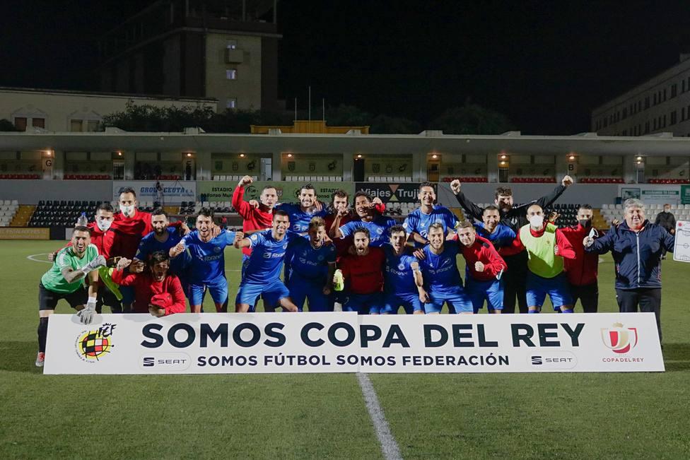Rácing Murcia sacó billete para la Copa del Rey en Ceuta