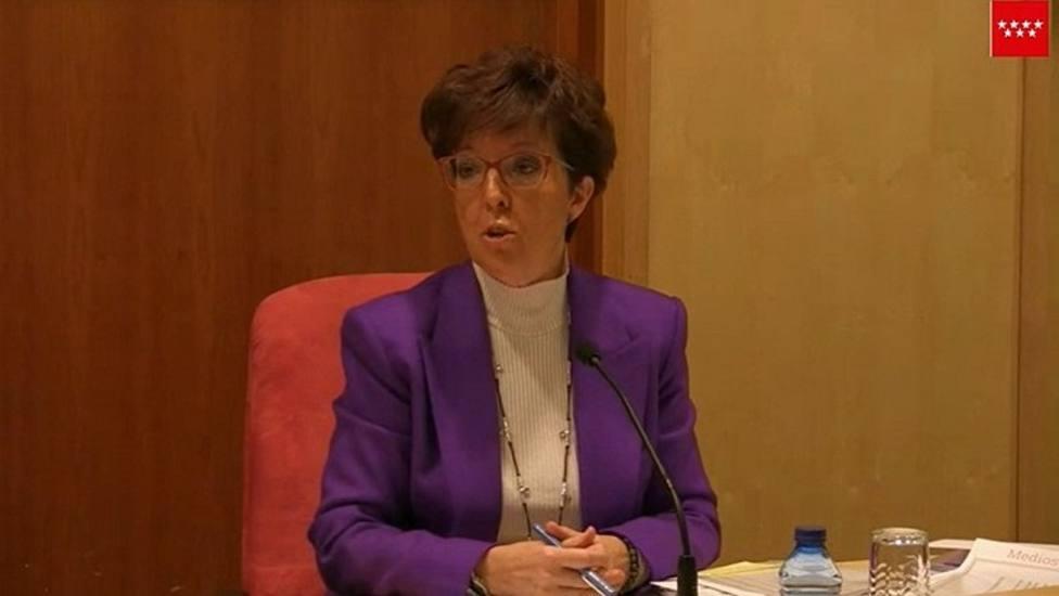 La directora general de Salud, Elena Andradas, en la comparecencia este viernes