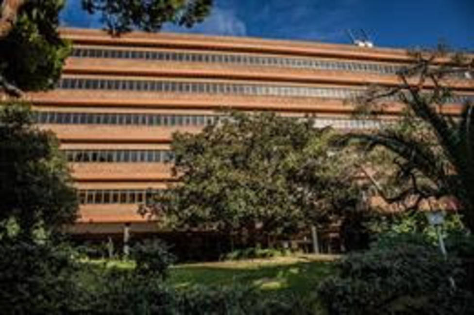 Exterior del Departamento de Educación de la Generalitat de Catalunya