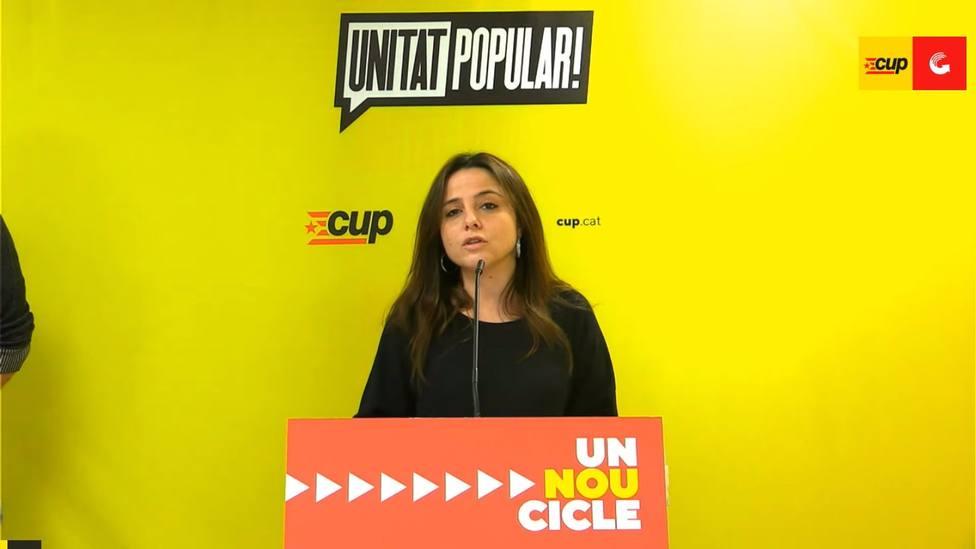 La CUP dice que la actuación de Mossos del lunes dificulta la negociación para formar Govern