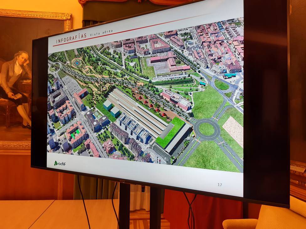 Foto plano futura Estación de Gijón (COPE Gijón)