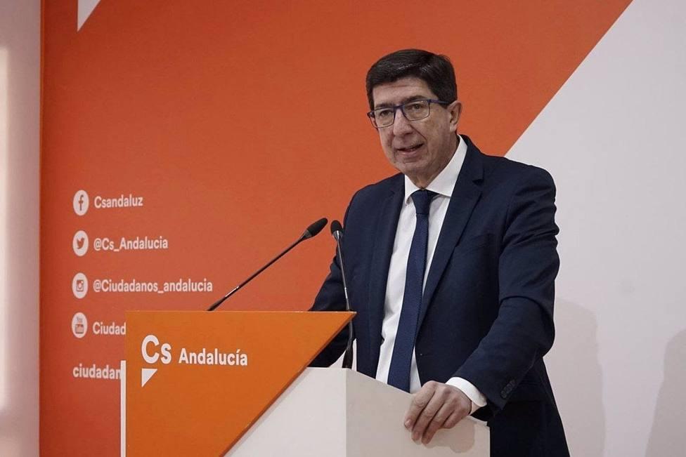 Granada.-Marín insiste en que el acuerdo con el PP es que Salvador sea alcalde cuatro años y es lo que se va a cumplir