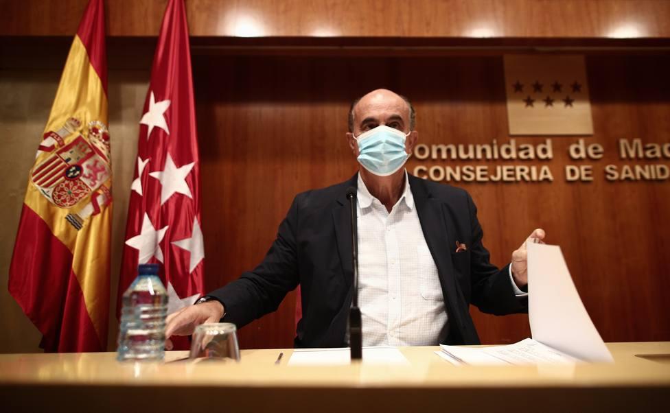 Madrid notifica 2.896 contagios y 15 fallecimientos por la covid-19