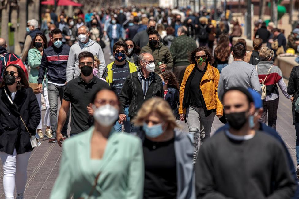España perdió 106.146 habitantes en 2020, coincidiendo con la pandemia