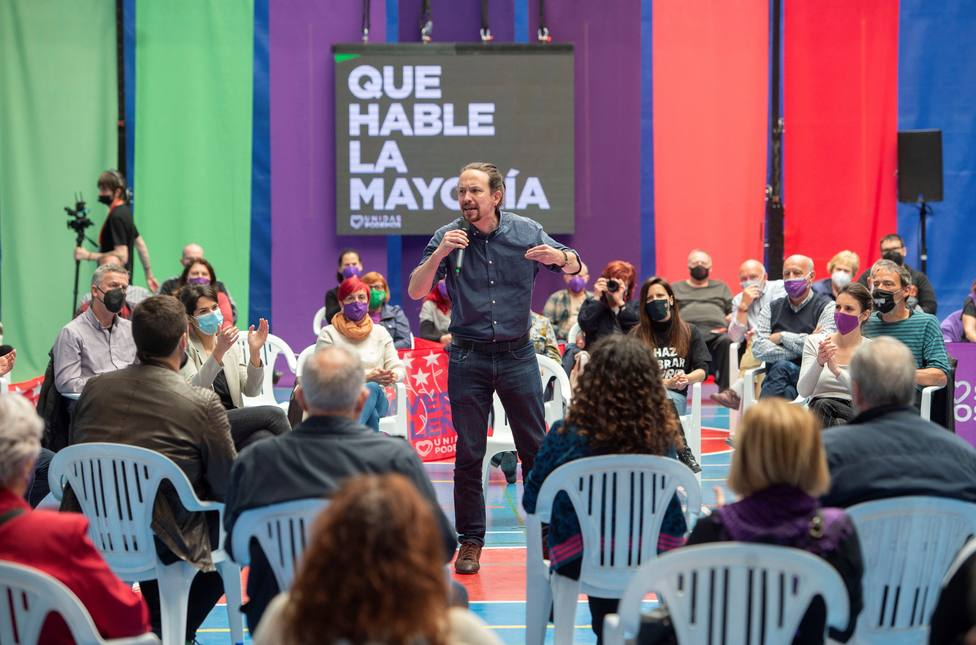 Pablo Iglesias reprocha que la Casa Real no se haya pronunciado sobre la violencia fascista