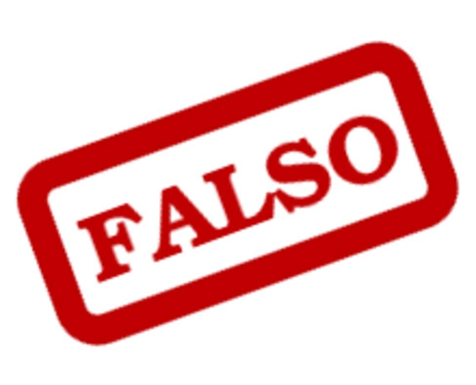 Alerta mensajes falsos