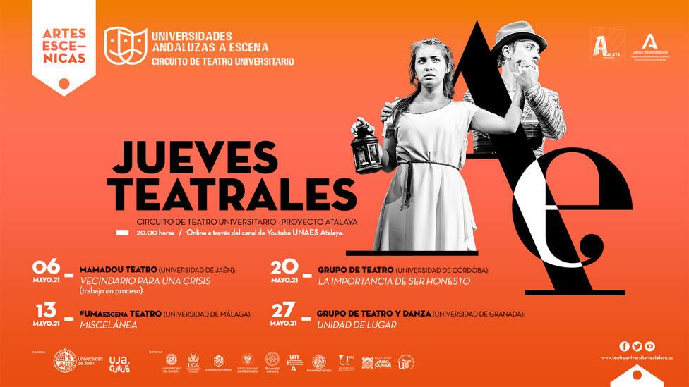 Vecindario para una crisis inicia el programa Jueves teatrales de la Universidad de Jaén