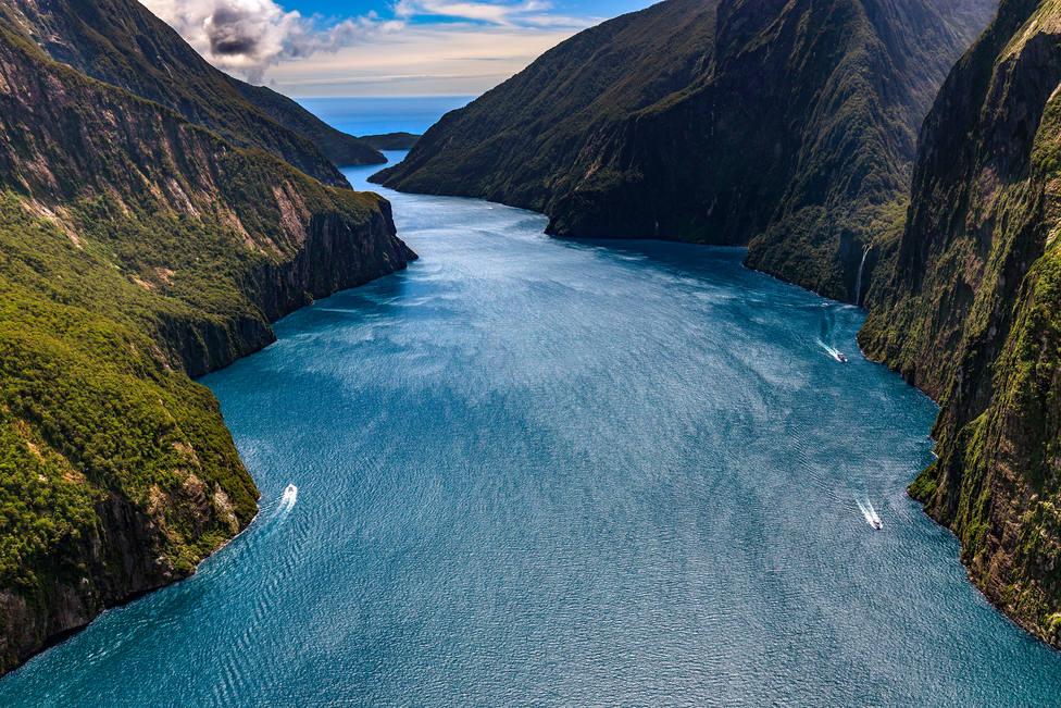 Nueva Zelanda blinda contra el turismo masivo su fiordo más emblemático
