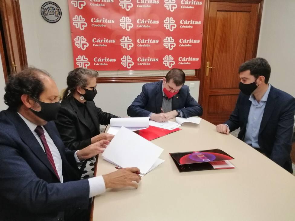 EDP potenciará el ahorro y la sostenibilidad de Cáritas Diocesana de Córdoba
