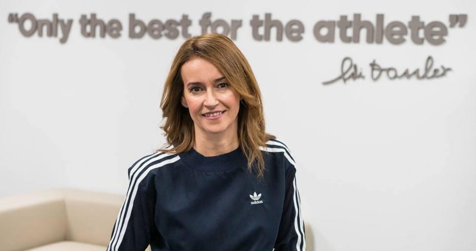 Marta Ríos lleva trabajando en la marca adidas 25 años.