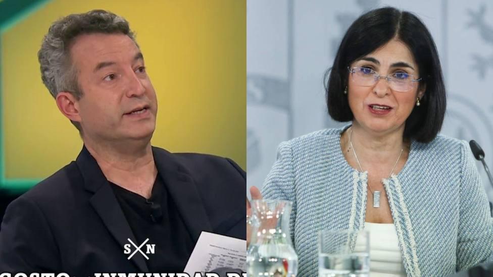 César Carballo y Carolina Darias