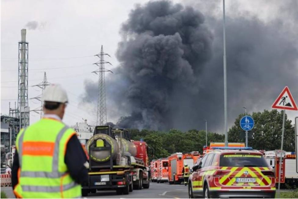 Explosión en una planta química al oeste de Alemania