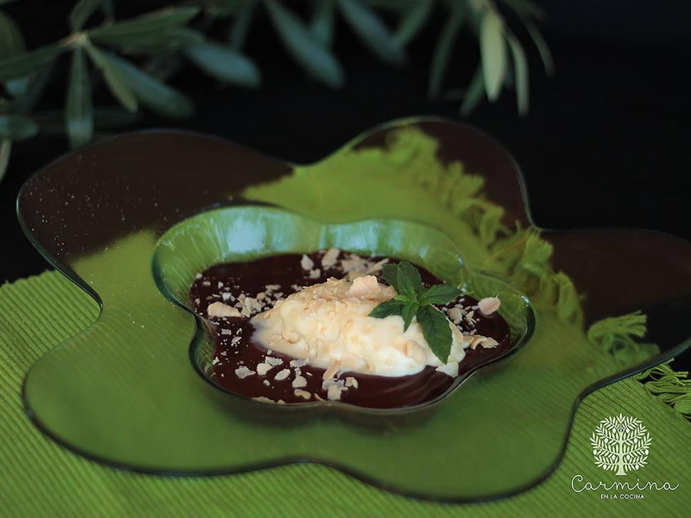 ¿Helado de Aceite de Oliva Virgen Extra?, sí y con chocolate