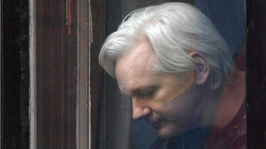 Fotografía de archivo que muestra al fundador de WikiLeaks, Julian Assange