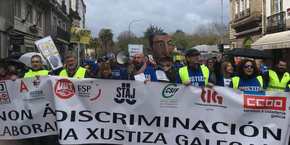 Amplia representación política en la manifestación de la justicia