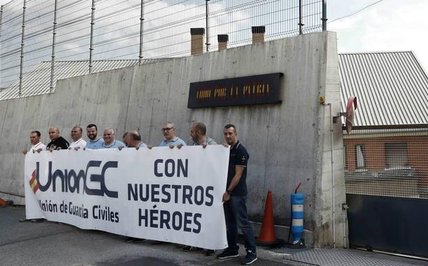 María José, novia de un guardia civil agredido en Alsasua, este martes en Herrera en COPE
