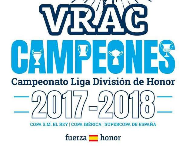 VRAC campeones de liga