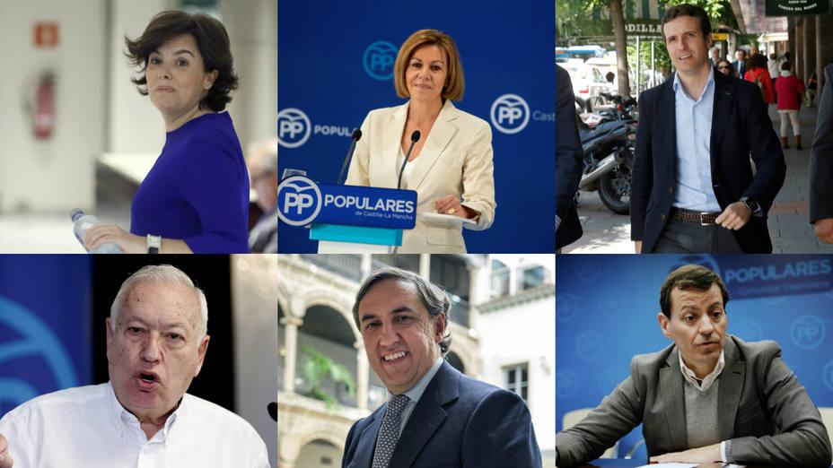 ¿Quién es tu candidato favorito para presidir el Partido Popular?