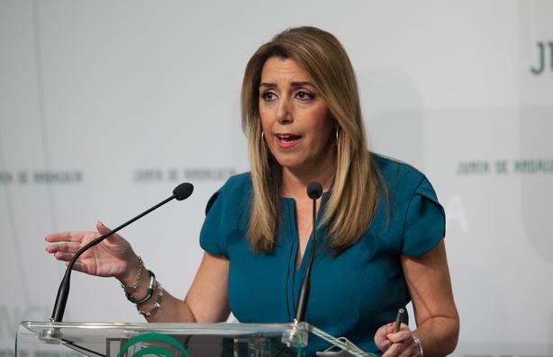 Junta Electoral desestima una denuncia del PP contra dos tuits de Susana Díaz compartidos por el gobierno andaluz