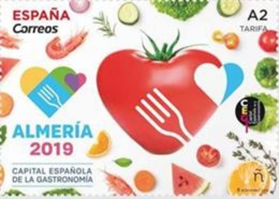 CORREOS/Sello dedicado a Almería 2019