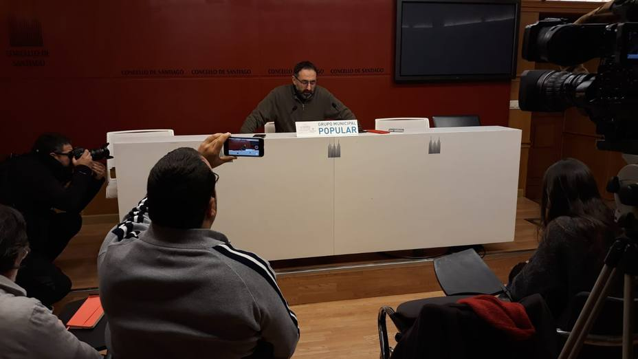 Sánchez Brunete en rueda de prensa