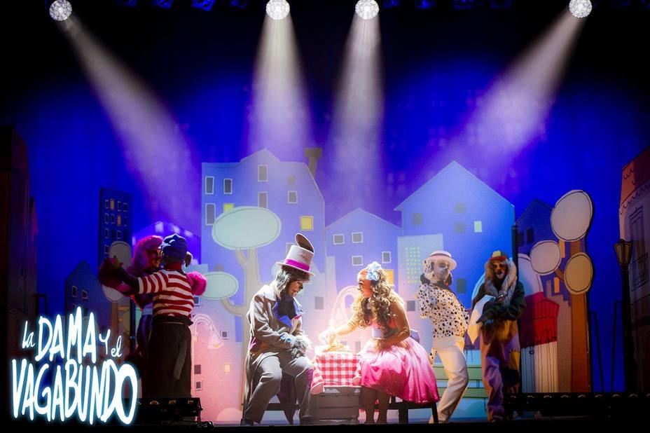 """""""La dama y el vagabundo"""", nominado a Premios Teatro de Rojas de Toledo"""