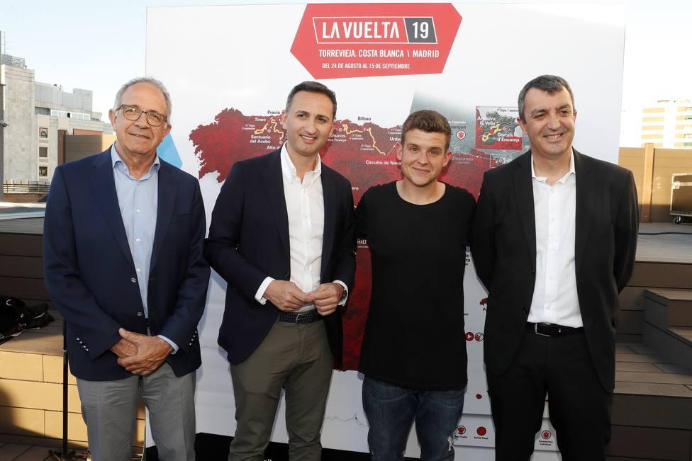 RTVE y La Vuelta presentan la sintonía de 2019, Otro intento más, de Arkano