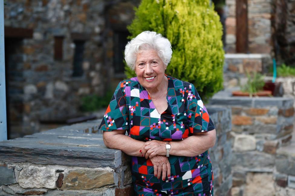 Charito, la abuela de Patones, se convierte en la concejal de mayor edad: 95 años