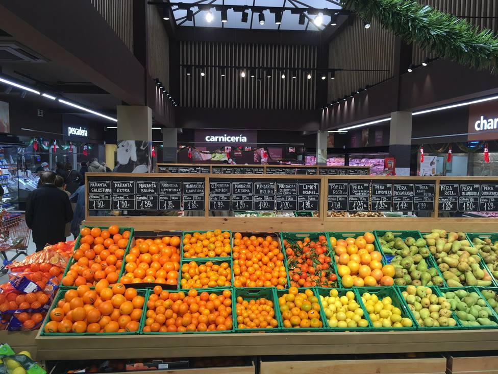 Los productos frescos, como la fruta, forman parte de la oferta de Gadis - FOTO: Gadisa