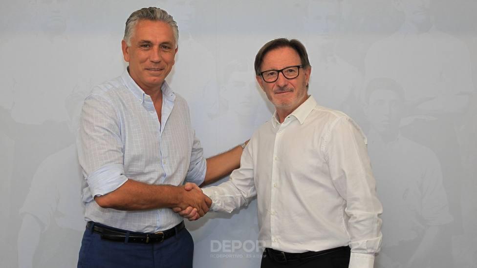 Juan Antonio Anquela, nuevo entrenador del Deportivo de La Coruña