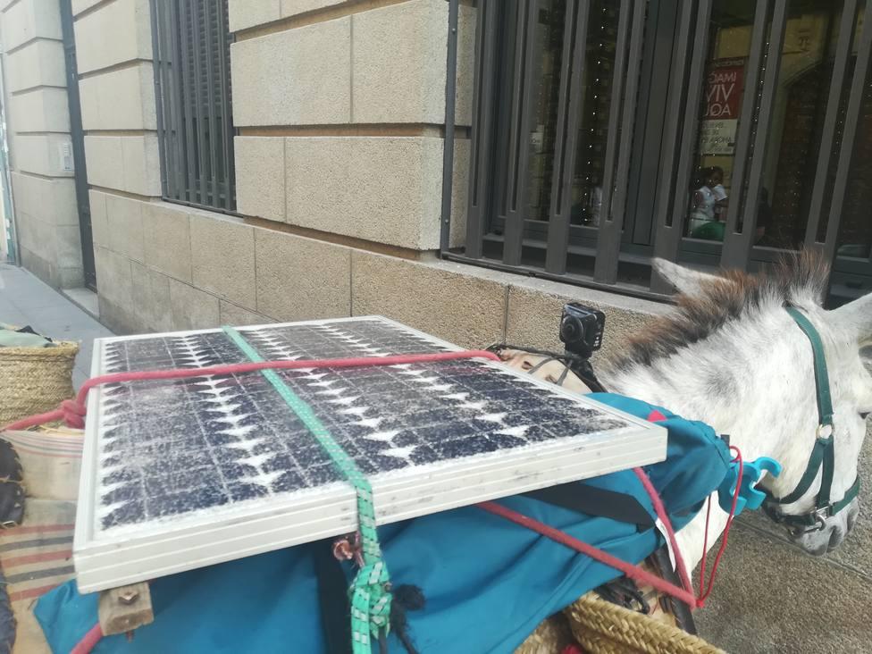 Burro fotovoltaico