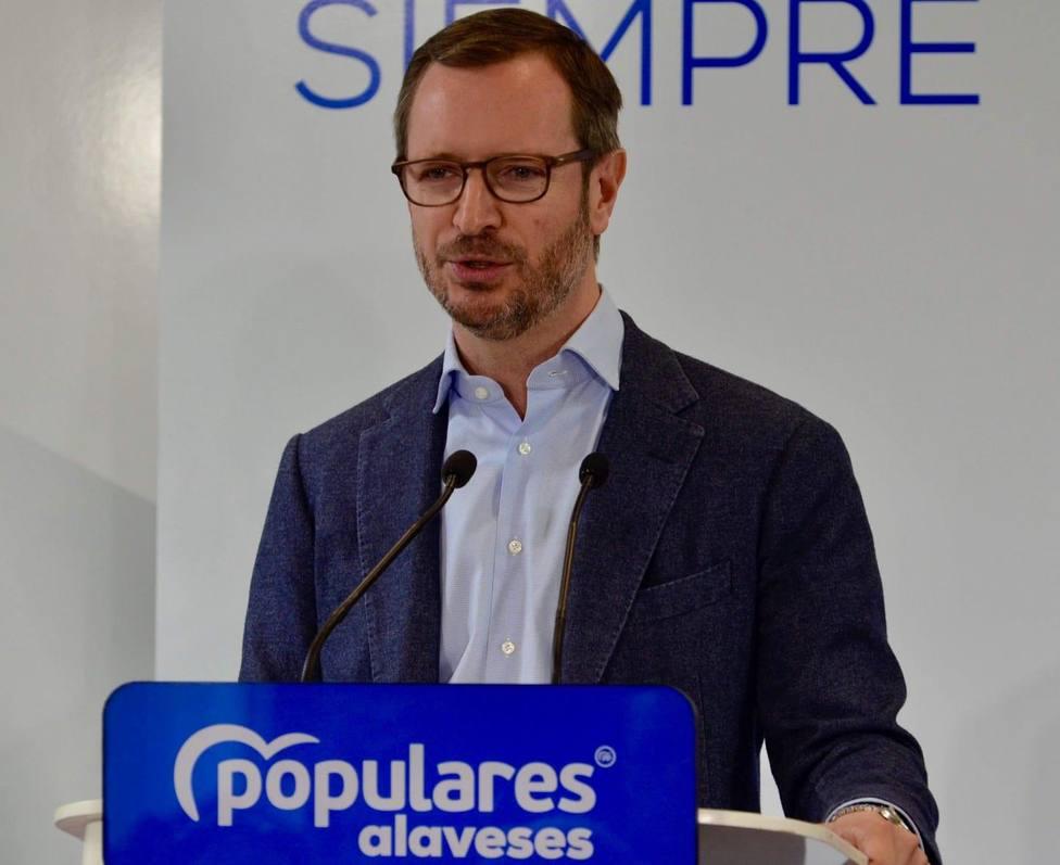 """Maroto dice que este lunes se contrastará la """"España unida"""" que desea el PP y la """"España que quiere malvender Sánchez&quo"""