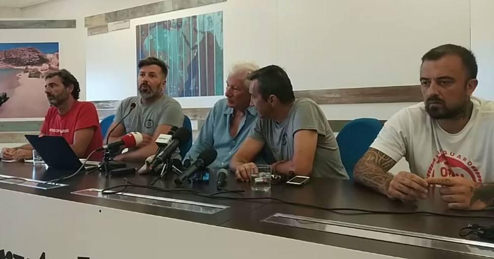 Camps (Open Arms): Ningún político evitará que protejamos la vida humana en el mar
