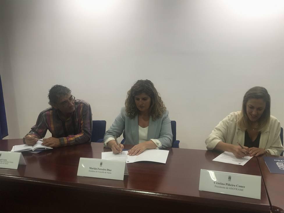 Firma del convenio de colaboración con Asotrame