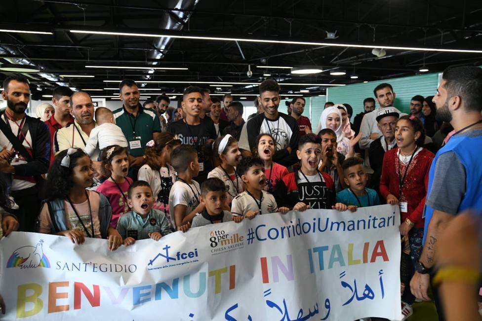 Roma acoge a otros 91 refugiados gracias a la Comunidad de Sant Egidio