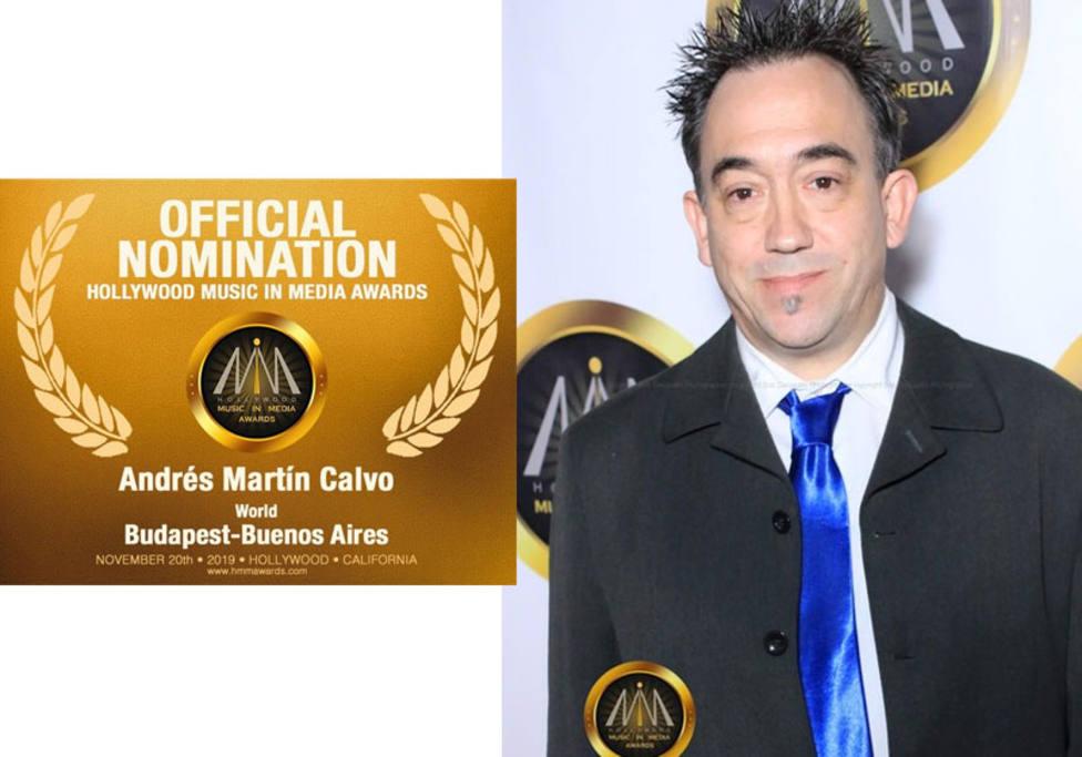 Andrés Martín Calvo nominado por segunda vez consecutiva a los Óscar de la música