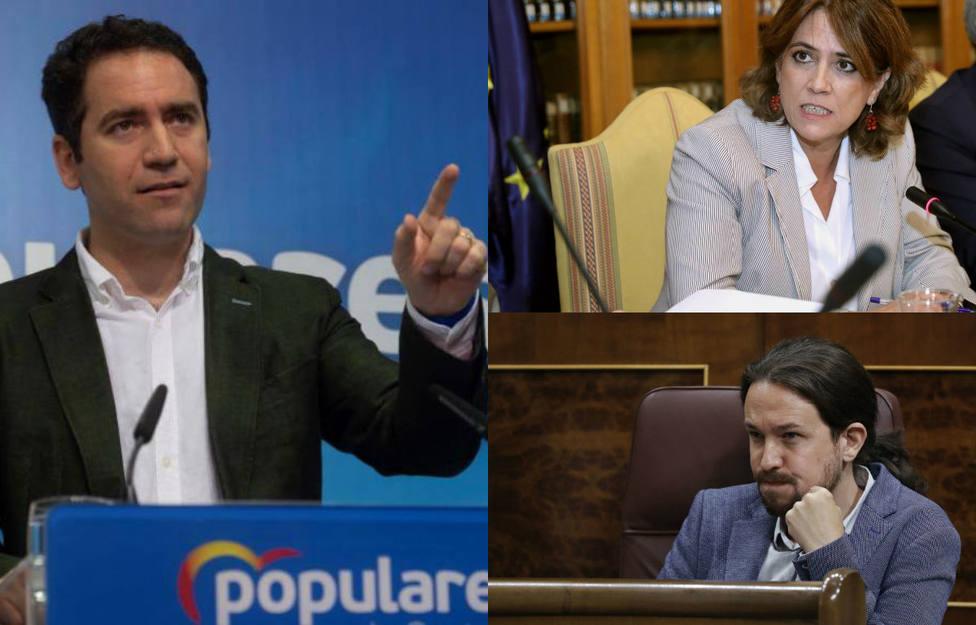 García Egea saca los colores a Iglesias con un vídeo en el que se demuestran las mentiras del vicepresidente