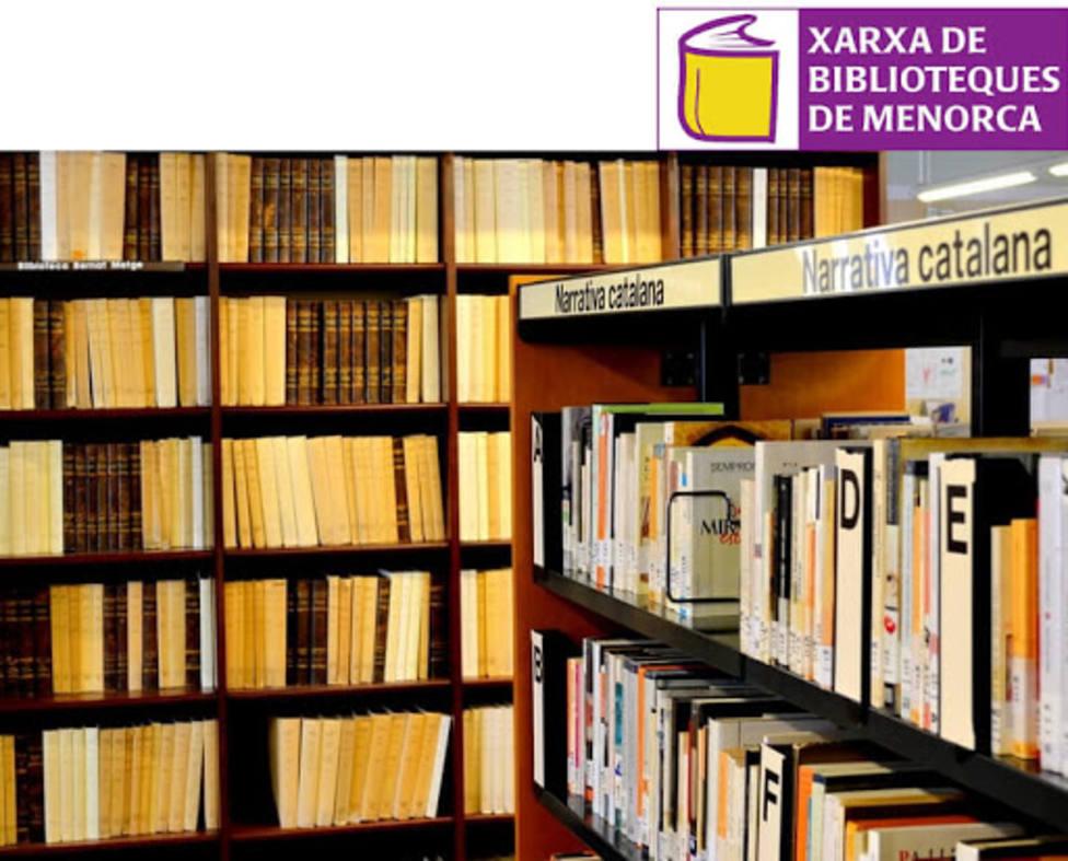 La Red de Bibliotecas de Menorca empieza la campaña «Biblioficcions