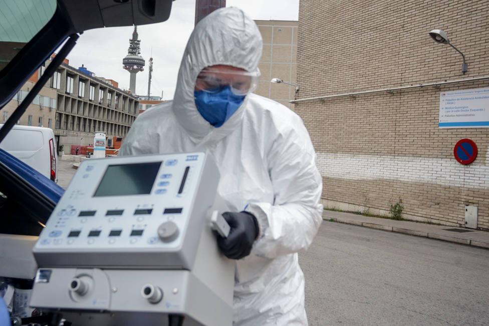 La Comunidad de Madrid autoriza 23,8 millones para la compra urgente de respiradores