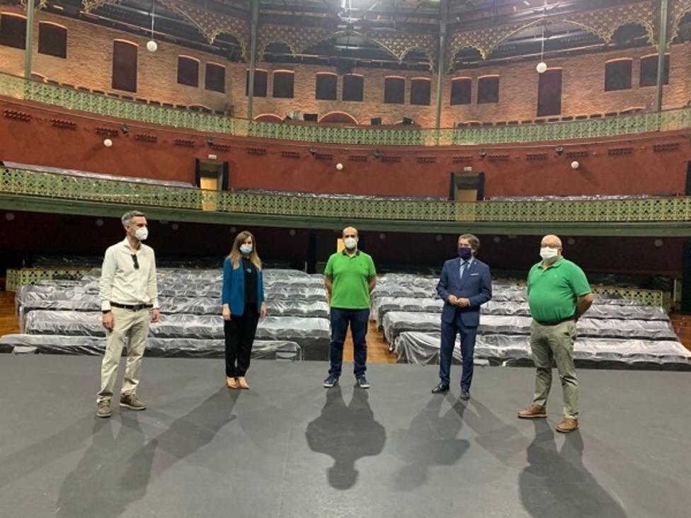 El Teatro Circo se prepara para acoger mañana el Festival 20:01, que se retransmitirá por streaming