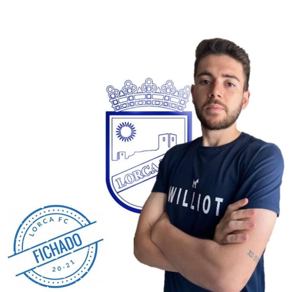 Jorge Varela, primer fichaje del Lorca FC