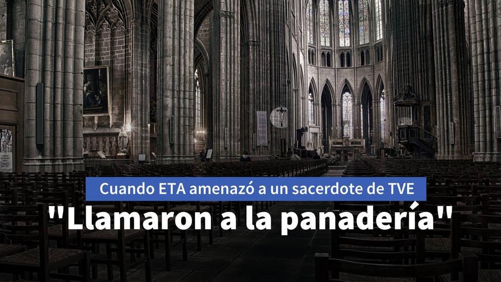 """La amenaza de ETA a un sacerdote cuando ofició su primera misa en TVE: """"Llamaron a la panadería"""""""