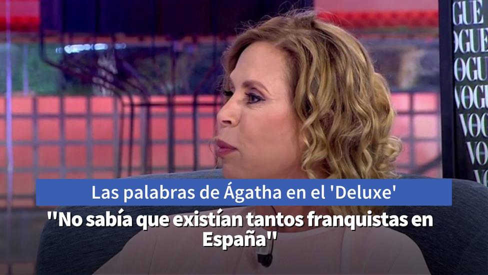 Las palabras de Ágatha Ruiz de la Prada sobre Franco que desatan la ira de Jorge Javier