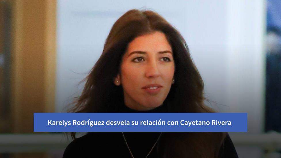 """Karelys Rodríguez desvela su relación con Cayetano Rivera: """"Han sido seis años de relación"""""""